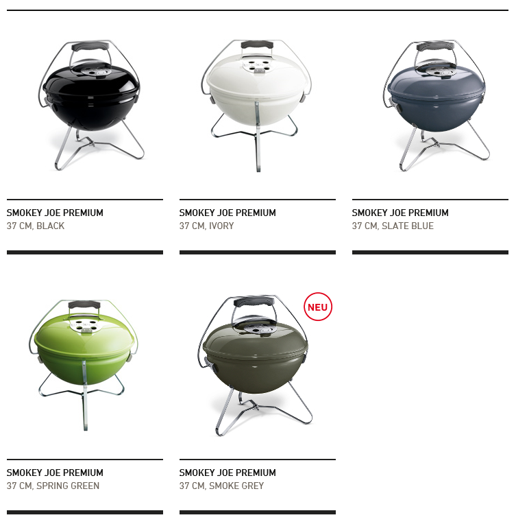 Weber Smokey Joe Premium Übersicht