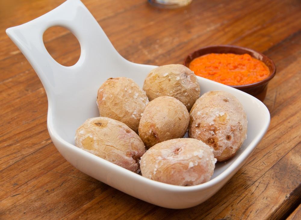 Papas Arrugadas - Kanarische Kartoffeln