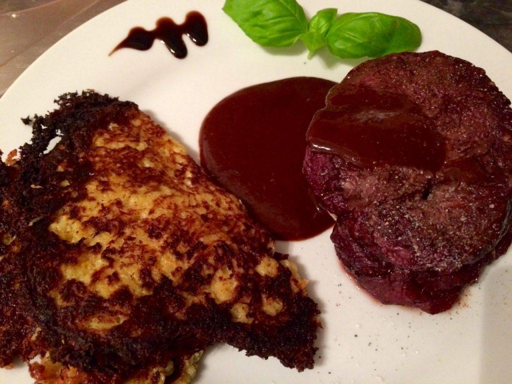 Steaks rückwärts grillen