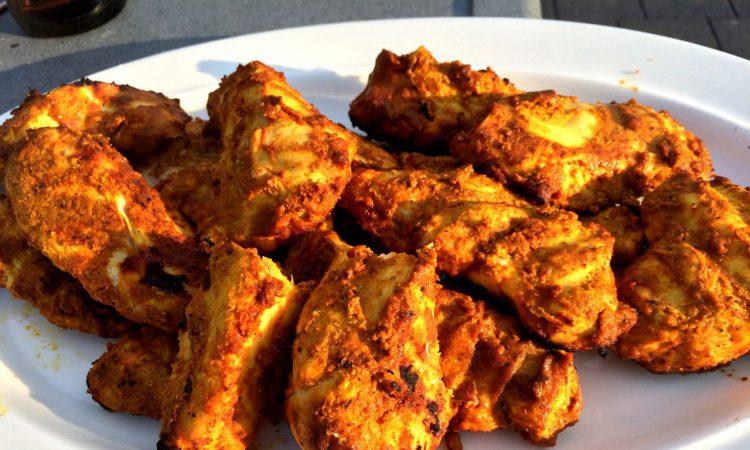 Tandoori Chicken vom Grill 4