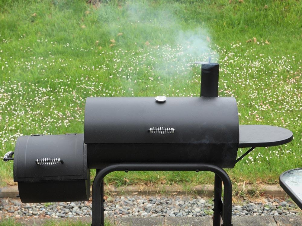 smoker grill gusseisen