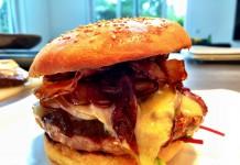 Black Angus Burger 1