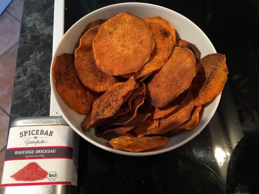 Süßkartoffelchips