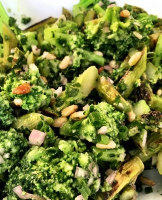 Spargel-Brokkoli-Salat