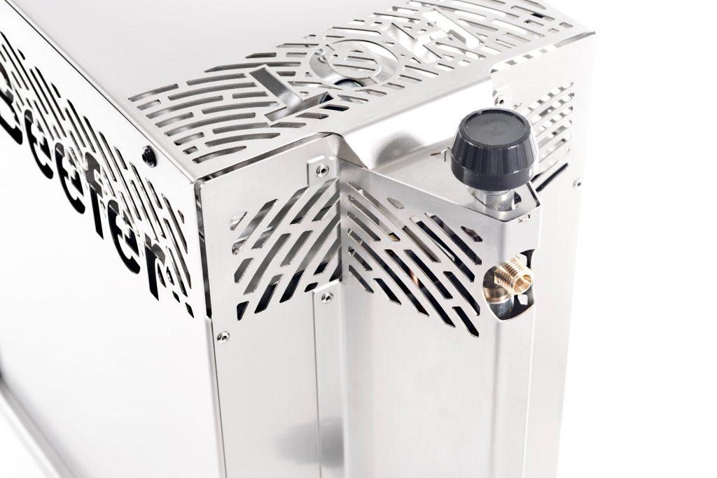 Der Beefer One Pro verfügt über ein Ventilschutzblech.