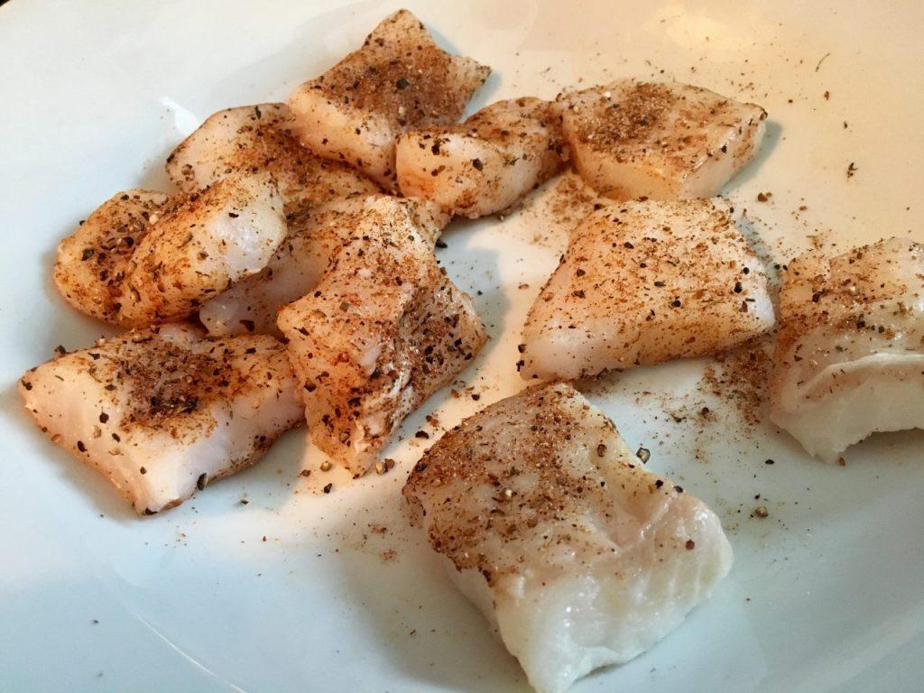 Fisch-Spieße