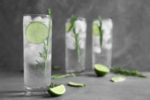 Gin Tonic Highball Glas