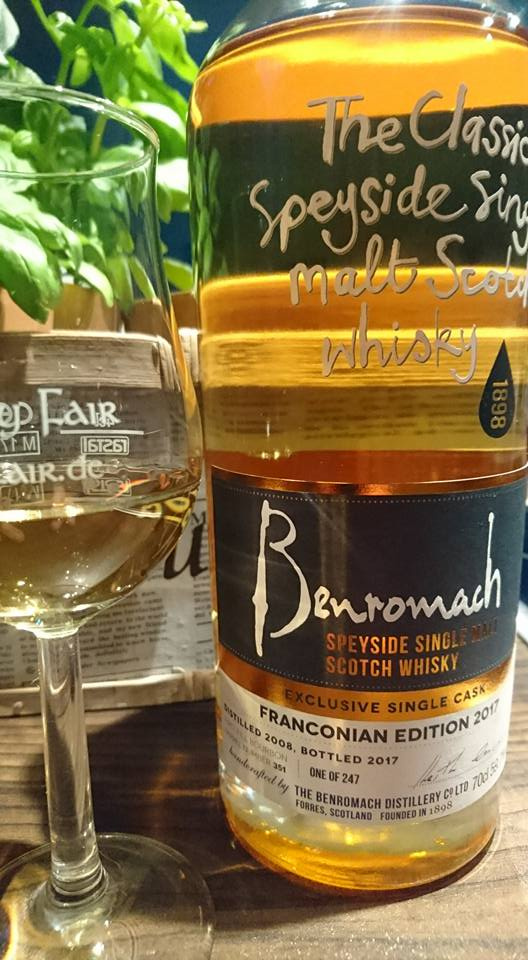 Benromach 2008 Franconian Edition 2017