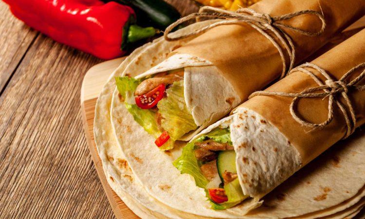 Chorizo Wrap mit Guacamole