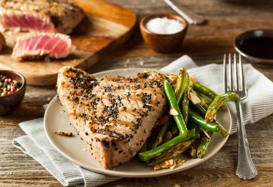 Thunfischsteak vom Grill
