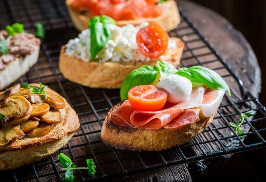 Bruschetta - leckere Variationen vom Grill