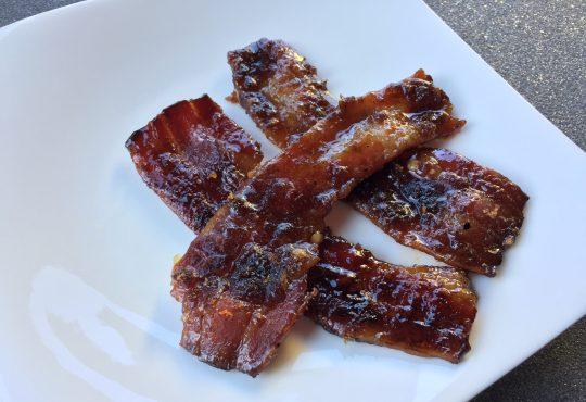 Feurig süße Baconstripes