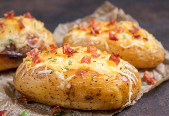 Gefüllte Kartoffeln | Bild: azurita