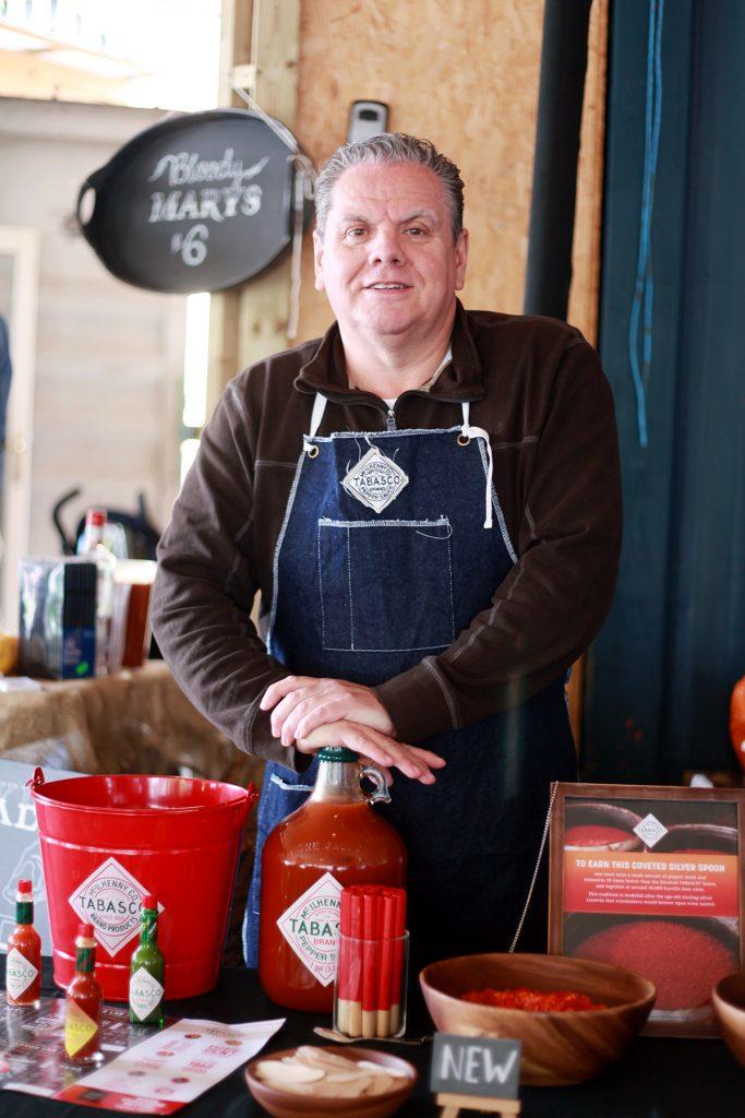 Gary Evans ist Chefkoch und Markenbotschafter von Tabasco
