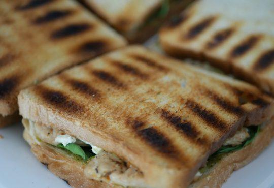 Sandwiches - belegte Brote vom Grill