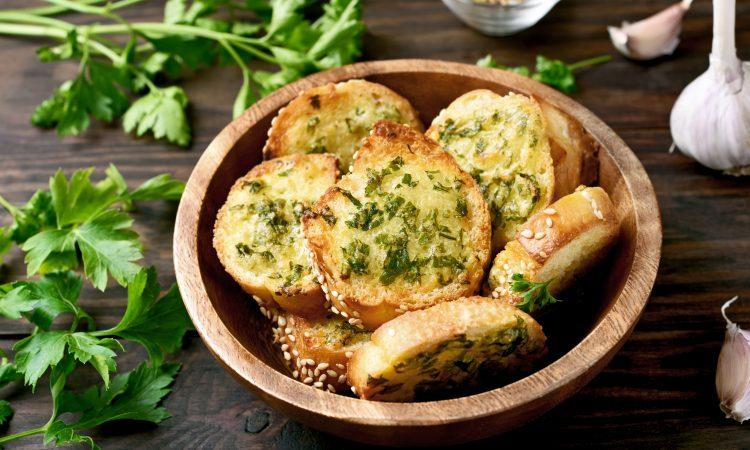 Garlic Bread - gegrilltes Knoblauchbrot