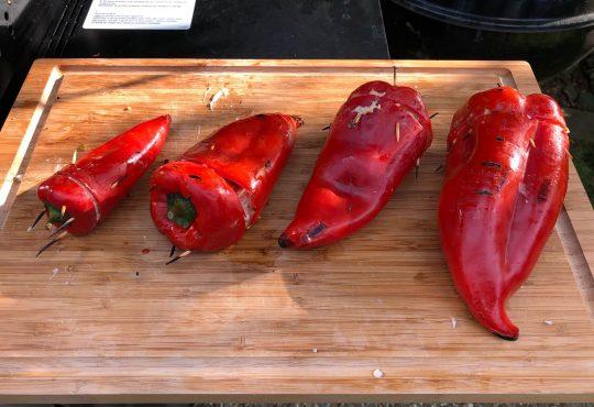 Spitzpaprika vom Grill