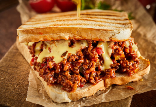 Sloppy Joe Sandwich - Rezept / Foto: exclusive-design