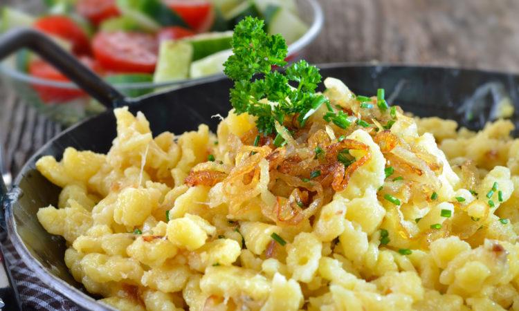 Käsepätzle aus der Gusspfanne / Foto: kab-vision