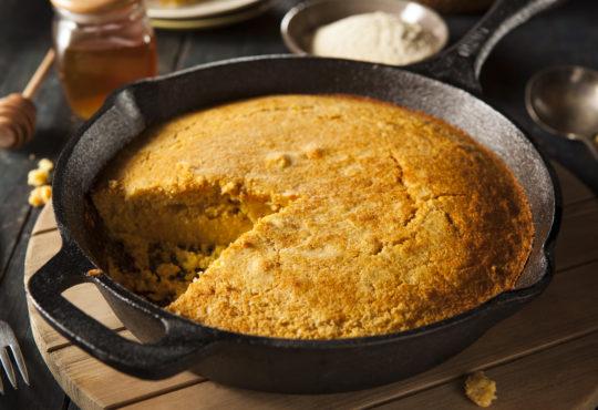 Maisbrot - amerikanisches Cornbread