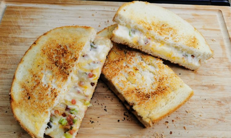 Roasted Cheese Bread