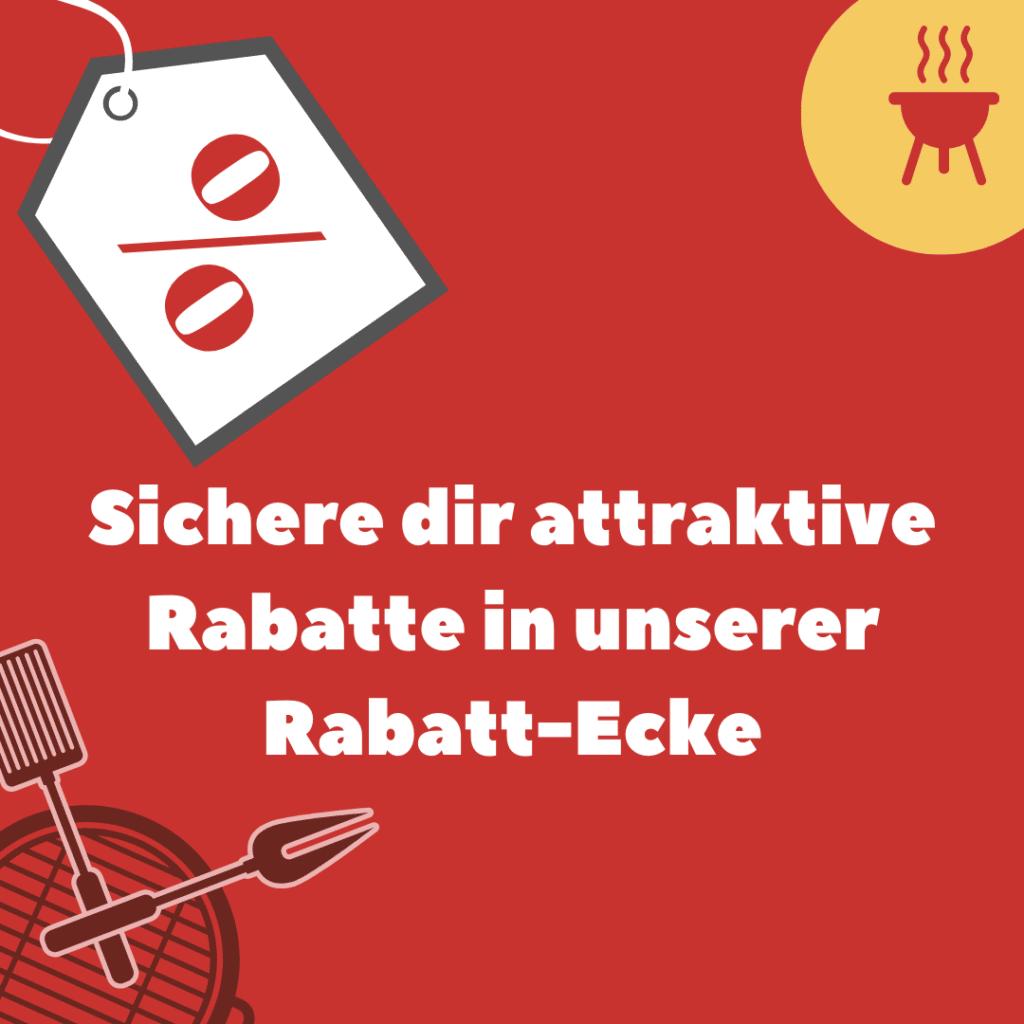 Rabatt-Ecke